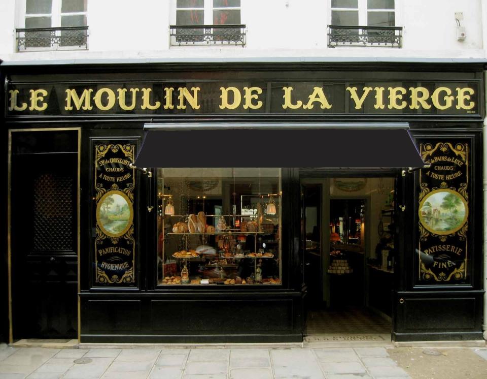 agencement de boulangerie Moulin de la Vierge Rue Saint Dominique