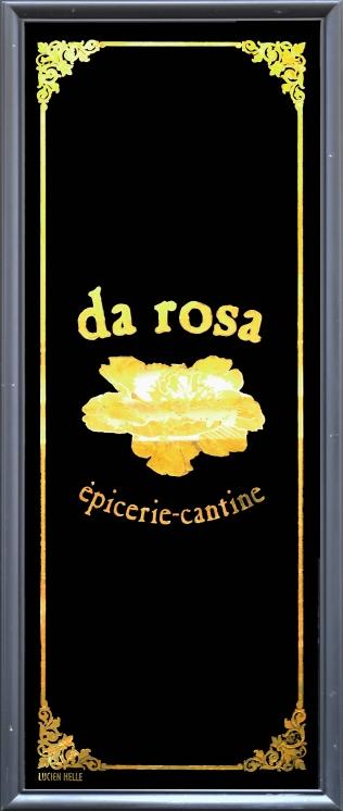 Panneau décoratif Feuille d'Or 24 carats Epicerie-Cantine