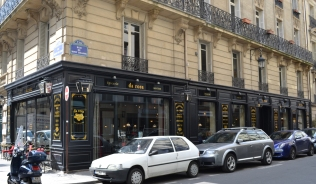 Façade de l'épicerie Da Rosa Rue Rouget de Lisle