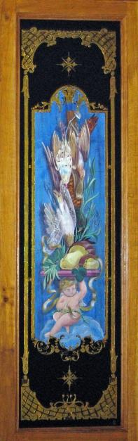 décor anges et gibier-2