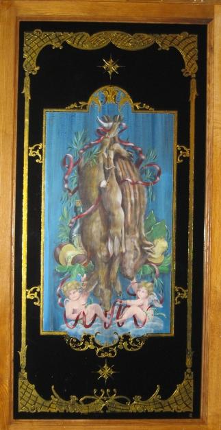 Panneau décoratif Anges et Gibier
