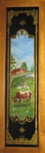 décor ferme-vaches