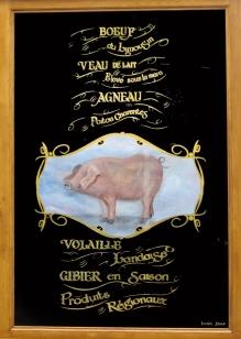 décor textes-cochon