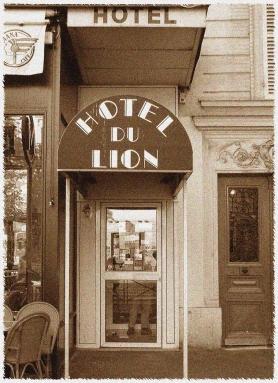 Entrée de l'Hôtel du Lion avant travaux