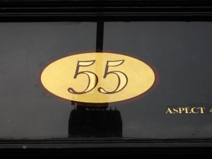 Logo numéro de rue