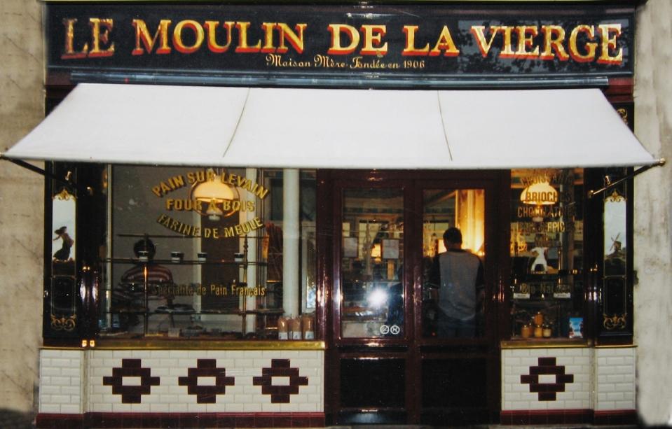 """Boulangerie """"Le Moulin de la Vierge"""" Façade"""