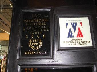 Lucien HELLE Premier Prix Salon du Patrimoine Culturel