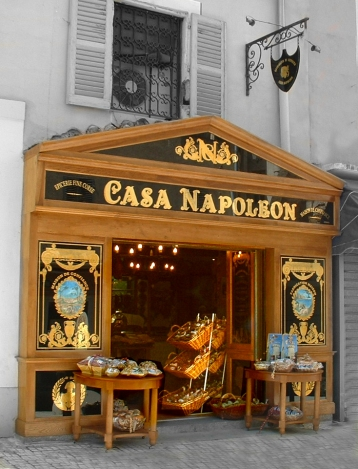 boutique Casa Napoleon Ajaccio rue Fesch