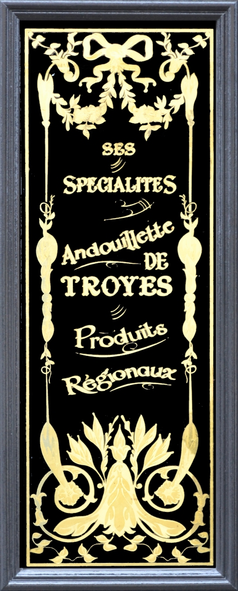 Charcuterie Thierry Troyes panneau Andouillette