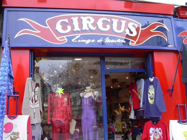 Boutique Linge de Maison Circus