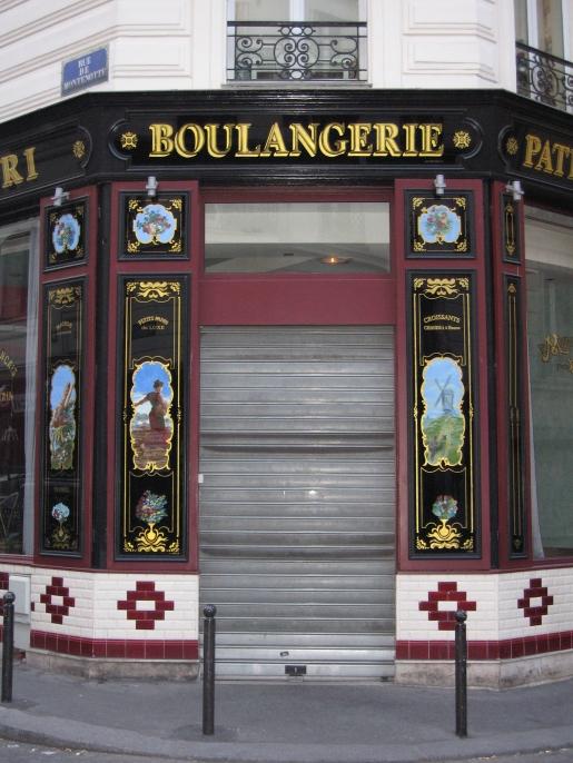 "Entrée du restaurant ""Montefiori"""