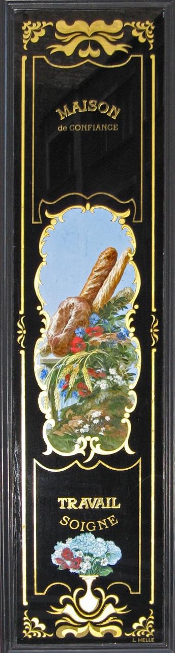 """Panneau décoratif """"Maison de Confiance"""""""