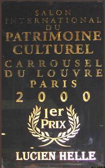 enseigne 1er prix salon du patrimoine 2000