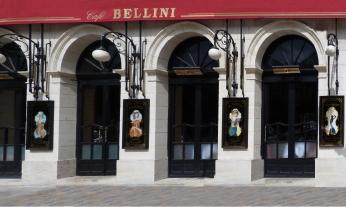 Façade principale du Café Bellini