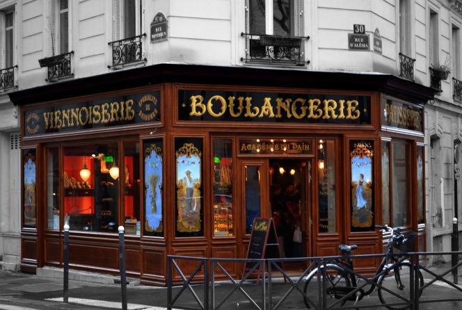 Vue générale de la boulangerie rue d'Alésia