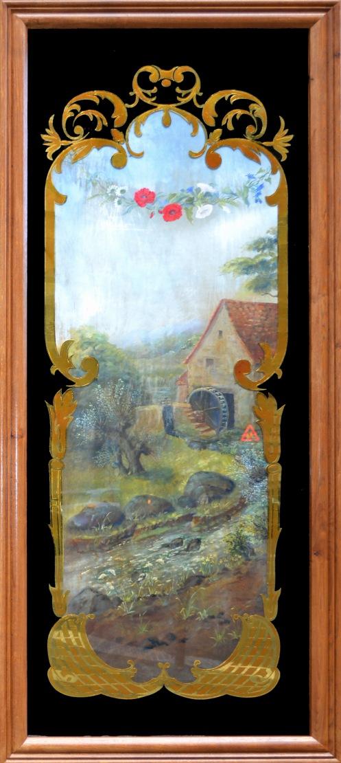Boulangerie Vabret - panneau moulin a eau