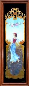 Panneau décoratif Feuille d'Or 24 Carats : La Semeuse