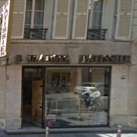 Boulangerie 59 rue de Saintonge avant travaux
