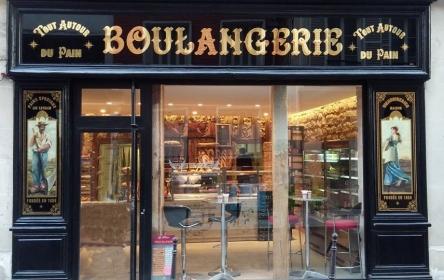 Boulangerie 59 rue de Saintonge après travaux
