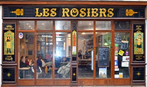 restaurant les Rosiers Paris
